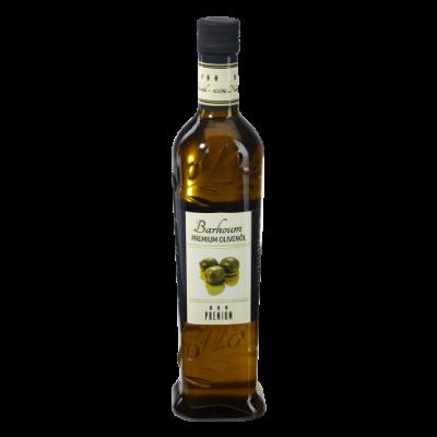 Flasche Olivenöl grün 500ml