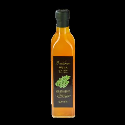 Flasche Verjus Traubenessig