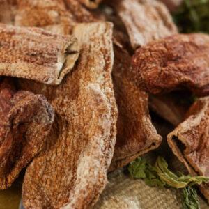 Barhoum Food: Auberginen getrocknet