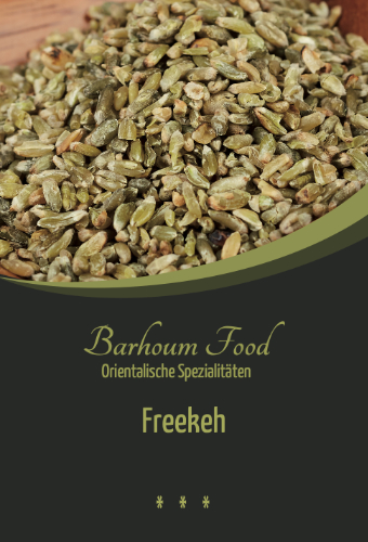 Barhoum Food: Freekeh