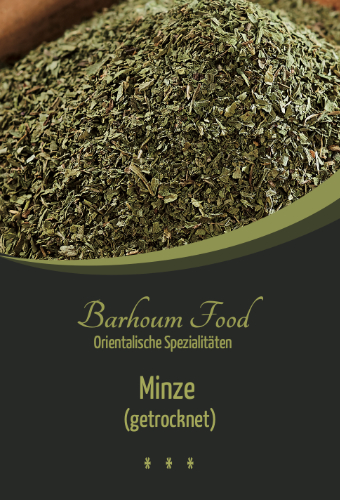 Barhoum Food: (Pfeffer-)Minze