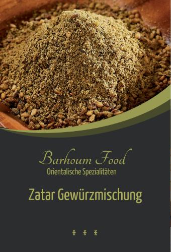 Barhoum Food: Zatargewürzmischung
