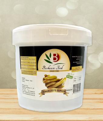 Barhoum eingelegte Gurken Eimer 8kg
