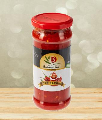 Barhoum rote Paprika scharf 370g